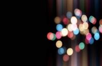 ویدیو فوتیج بوکه های رنگارنگ 16