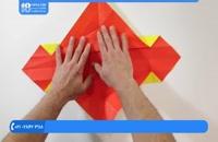 اوریگامی سه بعدی - آموزش درست کردن اوریگامی شیر