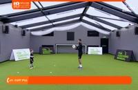 آموزش فوتبال به کودکان - کنترل توپ و پاس کاری
