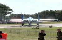 قدرت بی نظیر موتور جت su-27/ایستگاه پرواز