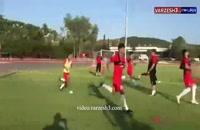 آخرین تمرین تیم ملی امید ایران در تایلند