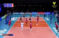 خلاصه بازی والیبال فرانسه - ایتالیا