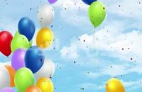 پس زمینه روز تولد و روز شادی