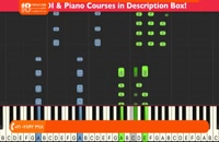 پیانو - تمرین نواختن کامل آهنگ