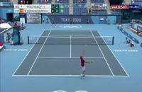 صعود خاچانوف به فینال تنیس مردان