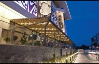 سقف متحرک تراس رستوران-پوشش اتوماتیک رستوران و کافه -پوشش  بازشونده تالار عروسی-سقف متحرک کافه ورستوران/09390039293