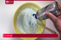 آموزش ساخت اسلایم پفکی بدون بوراکس با چسب مایع