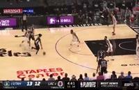 خلاصه بازی بسکتبال لس آنجلس کلیپرز - یوتا جاز