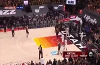 خلاصه بازی بسکتبال یوتاجاز - لس آنجلس کلیپرز