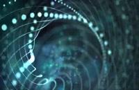 ویدیو فوتیج ذرات نورانی انتزاعی