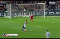 خلاصه بازی بارسلونا ۲-۱ لوانته