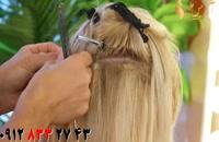 کلیپ اکستنشن مو بلند + آرایش مو به سبک کیم کارداشیان