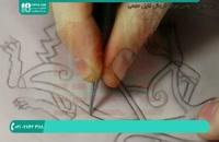 آموزش حکاکی روی چرم به صورت گام به گام