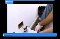 آموزش نصب سنگ های آنتیک - روش نصب سنگ بر روی دیوار