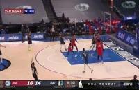 خلاصه بازی بسکتبال دالاس ماوریکس - فیلادلفیا سیکسرز
