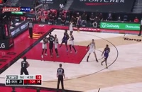 خلاصه بازی بسکتبال تورنتو رپترز - بروکلین نتس