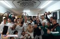 خوشحالی ژاوی پس از قهرمانی در جام حذفی قطر