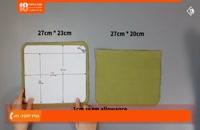 آموزش دوخت کیف پارچه ای - آموزش دوخت کیف لپ تاپ