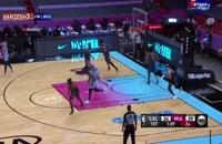 خلاصه بازی بسکتبال لس آنجلس لیکرز - میامی هیت