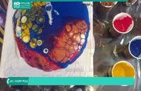 آموزش روش افزودن رنگ پودری و جوهری به رزین اپوکسی