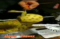 پوست کن آناناس