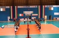 مسابقه نوجوانان والیبالیست ایران با قهرمان اروپا