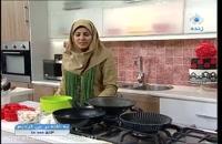 غذای اسپانیایی  تورتیلا اسپانولا خانم امیری به خانه بر می گردیم 950203