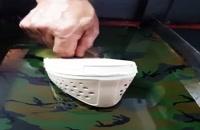 فیلم دستگاه مخمل پاش09192075483پودر مخمل//چسب مخمل ضدآب