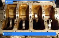 آموزش تعمیر موتور تویوتا و نصب میل لنگ و بستن قطعات موتور