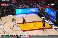 خلاصه بازی بسکتبال میلواکی باکس - میامی هیت