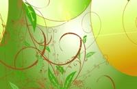 ویدیو فوتیج پس زمینه انیمیشن گیاهی