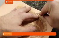 آموزش حکاکی روی چرم - حکاکی روی چرم ، استفاده از قلم های مختلف