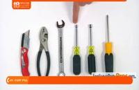 آموزش تعمیر ظرفشویی - تعویض خرطومی شیلنگ تخلیه 3