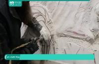 سنگ تراشی ساخت دست مجسمه سنگی