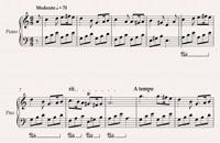 آموزش آهنگ نوستالژی greensleeves برای پیانو