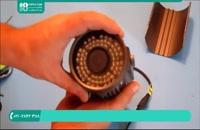 آموزش تعمیرات دوربین های مدار بسته دید در شب و دید در روز