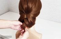 مدل مو ساده و بسیار شیک برای مهمانی