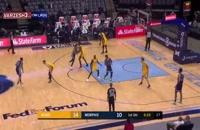 خلاصه بازی بسکتبال ممفیس گریزلیز - میامی هیت