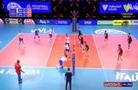 خلاصه بازی والیبال روسیه - ژاپن