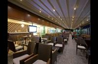 سقف متحرک باغ رستوران-پوشش تمام برقی رستوران-پوشش اتومات تالار عروسی-سقف برقی کافه ورستوران