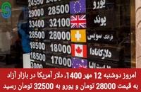 گزارش و تحلیل طلا-دلار- دوشنبه 12 مهر 1400
