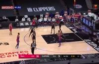 خلاصه بازی بسکتبال فیلادلفیا سیکسرز - لس آنجلس کلیپرز