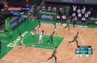 خلاصه بازی بسکتبال بوستون سلتیکس - نیویورک نیکس