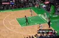 خلاصه بازی بسکتبال بوستون سلتیکس - بروکلین نتس