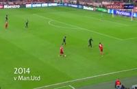 پنج گل دیدنی آرین روبن - لیگ قهرمانان اروپا