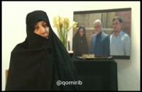 پیام مادر شهید حسنی سعدی به خانواده های جان باختگان سقوط هواپیما