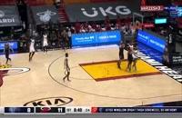 خلاصه بازی بسکتبال میامی هیت - ممفیس گریزلیز