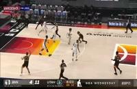 خلاصه بازی بسکتبال یوتا جاز - بروکلین نتس