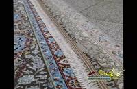 فرش 1500 شانه نقشه طاووس