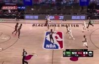 خلاصه مسابقه بسکتبال میامی هیت - میلواکی باکس